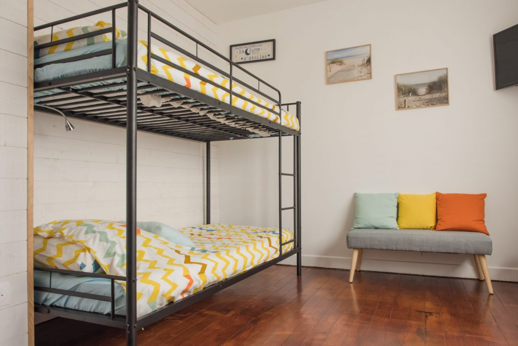 lits superposés chambre lumineuse